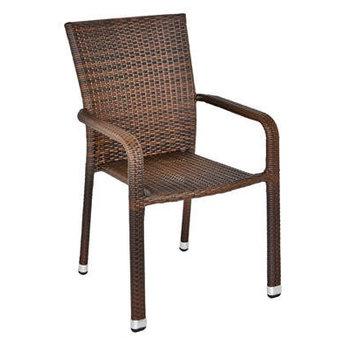 Zahradní židle - křeslo Modus leather look