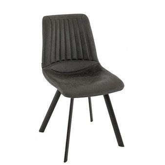 Kovové židle - křeslo Monica Anthracite