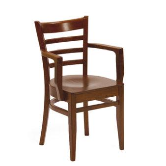 Dřevěné židle - křeslo Porto B-5200