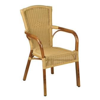 Zahradní židle - křeslo Santa Fe Round Natural