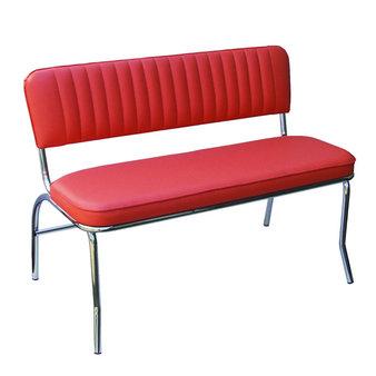 Kovové židle - lavice Denver