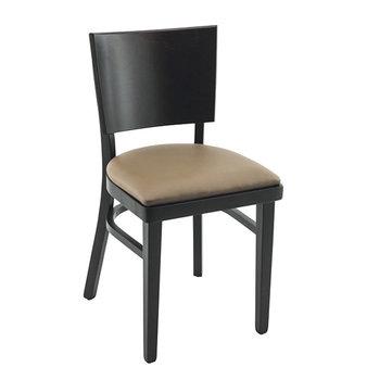 Dřevěné židle - Manhattan UP wenge/taupe 23
