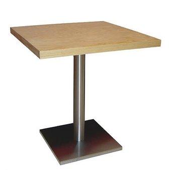 Kavárenské a restaurační stoly - stoly Basic 030QD INOX