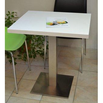 Kavárenské stoly - stůl Boxy 001 INOX QLTD Basic