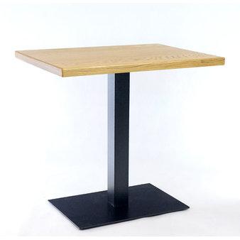 Kavárenské stoly - stůl COME 19 QDD 80x60cm dubová dýha