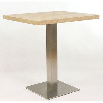 Kavárenské a restaurační stoly - stůl INOX 06 QLTD