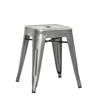 Kovové židle - taburet Ponte natural