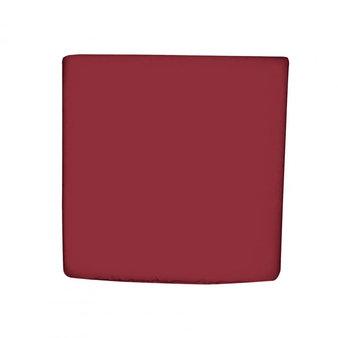 Sedáky na zahradní nábytek - univerzální sedák hranatý vínový - látka HIT UNI 8833