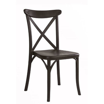 Židle - židle Capri v barvě Wenge