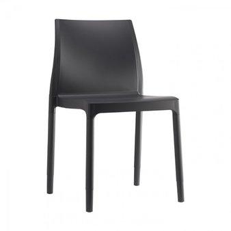 Plastové židle - židle Chloe Trend Chair anthracite grey
