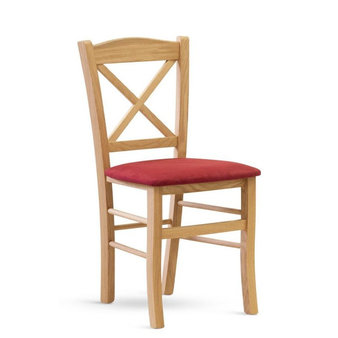 Dřevěné židle - židle CLAYTON DUB čalouněná