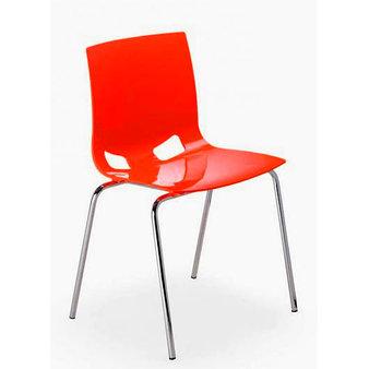 Výprodej - židle FONDO červená