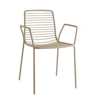 Kovové židle - židle Summer s područkami