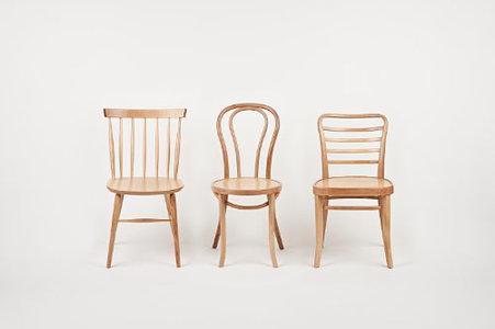 Dřevěné židle nyní i venku... s technologií WRB
