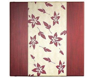 Stolová deska Diner Mahogany Hibiscus