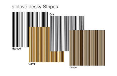 Stolové desky stripes