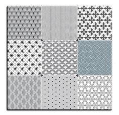 Nové stolové desky Ciment Blanc a Bleu