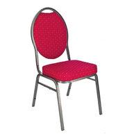 banketová židle Selectstack deluxe round červená (nedostupné)