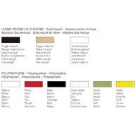 barevná provedení židle Porta Venezia