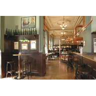 barová židle 073 v restauraci Demínka