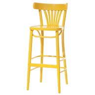 barová židle 130 ve žluté barvě