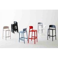 barová židle Abuela v dostupných barvách