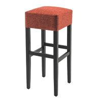 barová židle Floriane CUBE v látce Next Rouille
