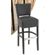 barová židle Floriane v barvě antracit