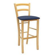 barová židle Pizza Bar s čalouněným sedákem