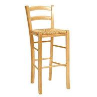 barová židle Pizza Bar s vyplétaným sedákem