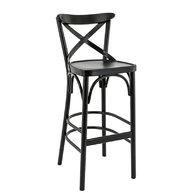 barová židle SOFIA BST v černé barvě