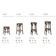barové židle C-43-- přehled modelů