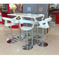 barové židle Ibis se snackovými stolky