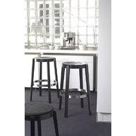 barové židle PUNTON s čalouněným sedákem