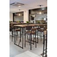 barový stůl s podnoží Factory Bar 80