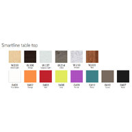 barvy a dekory stolové desky