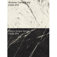 dekory Mramor Carrara a Pietra Grigia