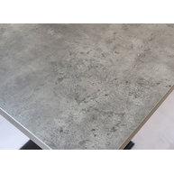 detail laminované stolové desky Beton tmavý