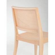 Detail opěradla židle Torino