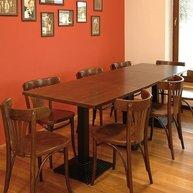 Dřevěná židle 056 - použití v interiéru
