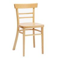 Dřevěná židle 189 v barvě B 39 -přírodní buk