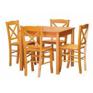 jídelní sestava s židlemi Cross masiv
