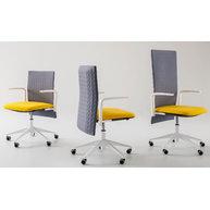 kancelářské židle řady Elodie (zleva Task, Manager, Executive)