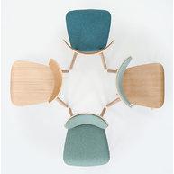 kolekce židlí LOF v různých provedeních