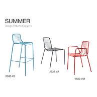 kolekce židlí Summer