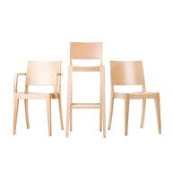 kolekce židlí Torino