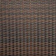 křeslo Mezza A Leather Look detail výpletu
