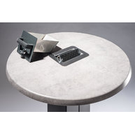 kuřácký stůl Circle - detail popelníku