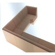 lavice - sedací systém SPACE