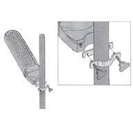 montáž zářičů Lucciola na tyč pomocí konzole 789